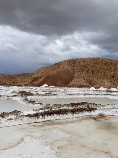 Salzgewinnung, Salar de Tarquiamaya
